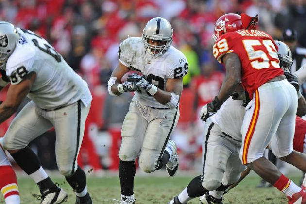 Former Oakland Raider Michael Bush Joins the Chicago Bears: Celebration or What?
