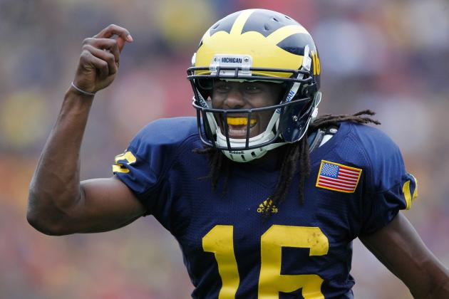 Big Ten Football: Denard Robinson Leads Heisman Hopefuls in 2012
