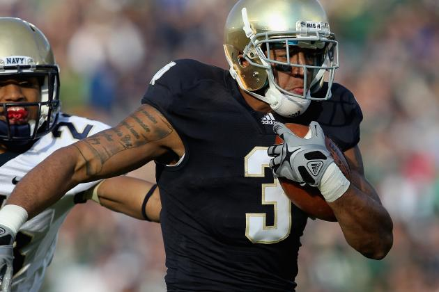 2012 NFL Draft: Why Notre Dame's Michael Floyd Should Top Buffalo Bills' Board