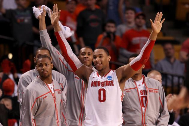 NCAA Bracket 2012: Ohio State and Florida Will Punch First Tickets to Final Four