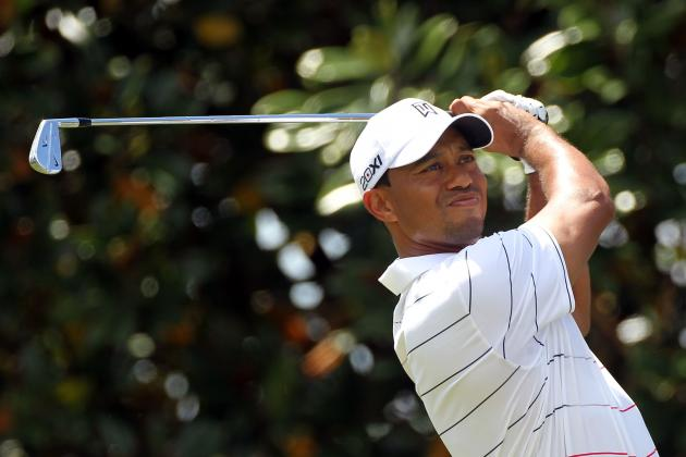 After Friday 65, Tiger Woods in Position but Still Has Work To Do