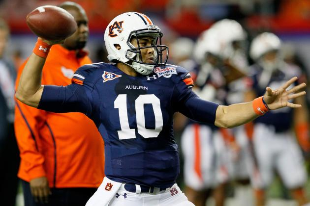 Time to Learn: For Auburn's QBs, Spring Is a Time of Education, Not Competition