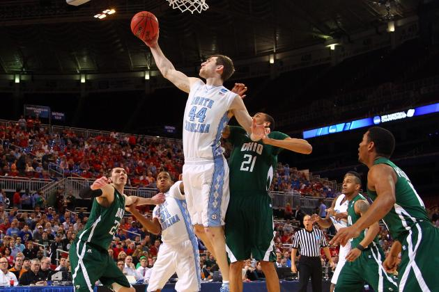 North Carolina Escapes Ohio in OT, Advances to the Elite Eight