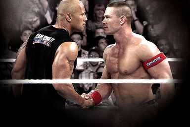 WWE WrestleMania: The Rock, John Cena and Just Being a Fan