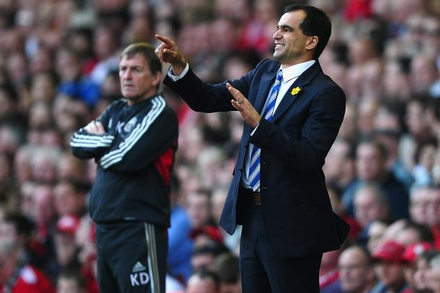 Wigan Athletic's 2-1 Win at Anfield Rewards Roberto Martinez for Daring Approach