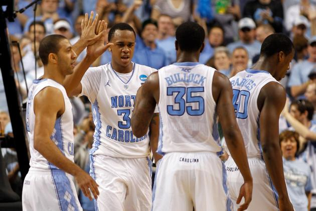 NCAA Bracket 2012: 5 Reasons North Carolina Will Defeat Kansas in Elite 8