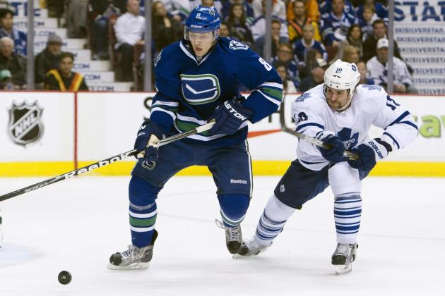 Chris Tanev Quietly Makes His Mark on Vancouver Canucks' Blueline