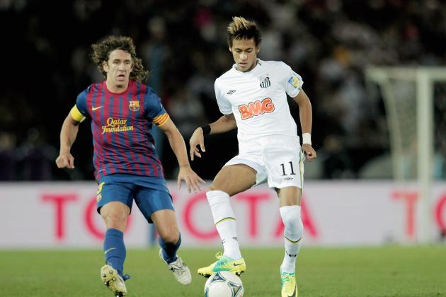 Santos FC: Neymar Makes the Top 10 Expensive Footballers List