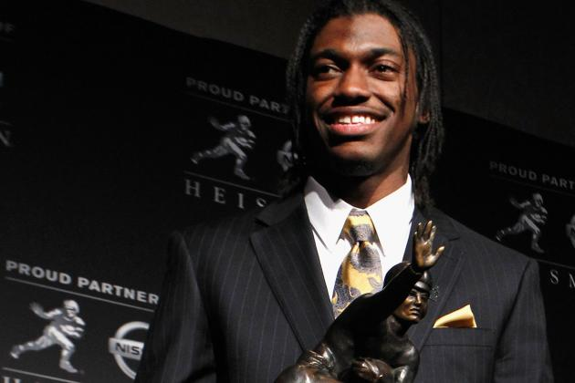 2012 NFL Draft: Redskins Plus RG3 Equals Big Bucks for Both Player and Team