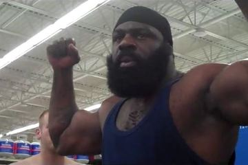 Former MMA Star Kimbo Slice Remains Undefeated in Boxing