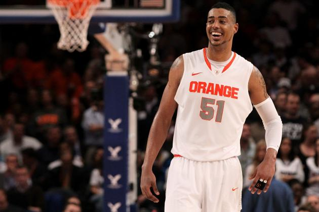 NCAA Tournament 2012: Fab Melo Leaves an Unerasable Asterisk on Big Dance