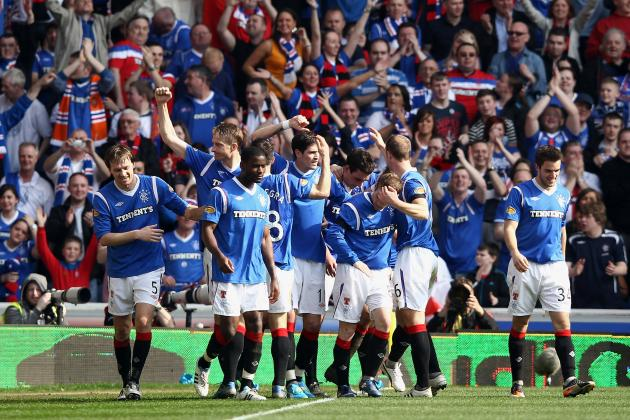 Glasgow Rangers Win Old Firm Derby Amidst 5 Goals, 3 Red Cards & a Penalty