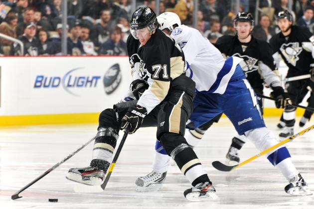NHL Scoring Leaders: Evgeni Malkin and Steven Stamkos Battling to the End