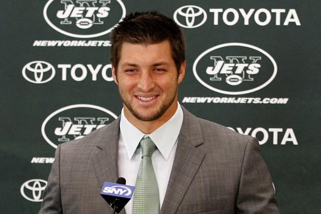 New York Jets:  Tim Tebow Press Conference Shows Jets Do Not See Him as a Backup