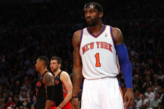 New York Knicks: Holding Their Breath While Amar'e Stoudemire Undergoes MRI