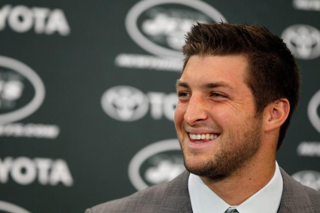 Tim Tebow Press Conference: 3 Takeaways from New York Jets Introduction