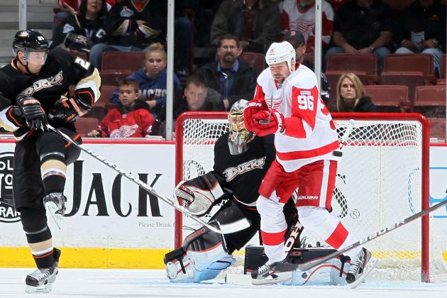 Detroit Red Wings: Tomas Holmstrom Is More Than Deserving of Masterton Trophy