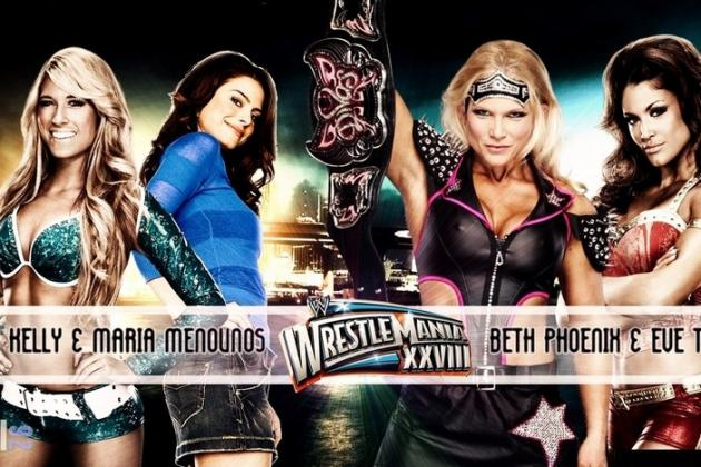 WWE WrestleMania 28: Is the Divas Tag Match the Showcase of the Pointless?