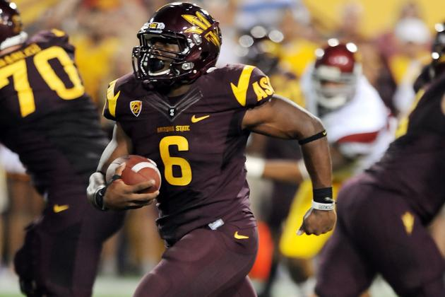 Arizona State Football: Sun Devils 2012 Success Relies on Cameron Marshall