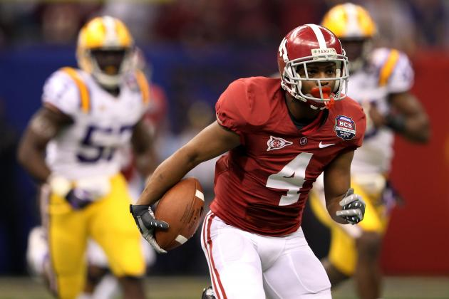 2012 NFL Draft Predictions: Projecting the Best Returner Prospects