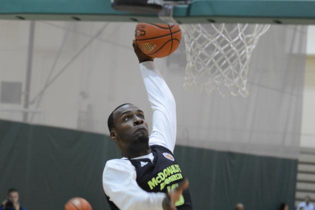McDonald's All-American Game 2012: Shabazz Muhammad Wins Powerade Jam Fest