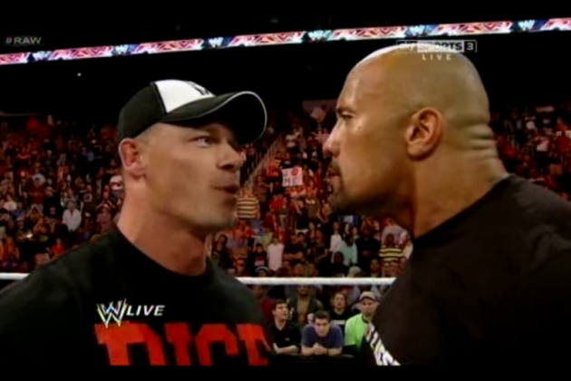 John Cena vs. the Rock: Both Icons Tie in Last Bout to End It at 4-2