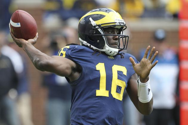 Big Ten Football Morning Coffee: No More 'Bad Denard' Robinson?