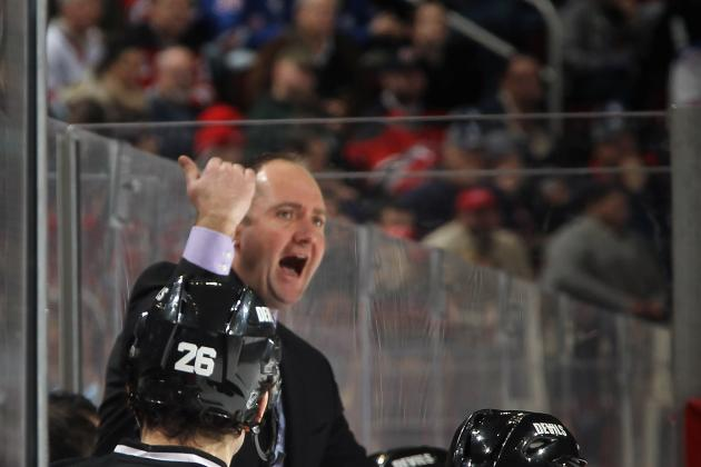 New Jersey Devils: Is It Too Late in the Year for Peter DeBoer to Change Lines?