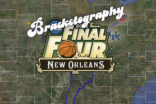 Bracketography: The Road to Final Four Sure Is Long for NCAA