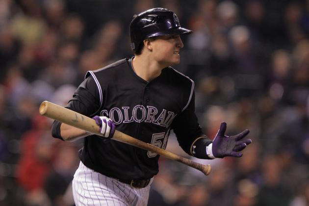 MLB Spring Training 2012: Rockies Trying to Find a Spot for Jordan Pacheco's Bat