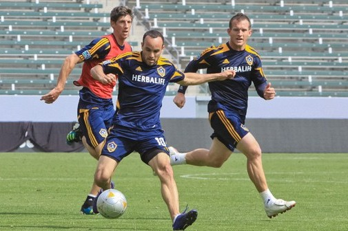 Los Angeles Galaxy Ins and Outs, March 27, 2012