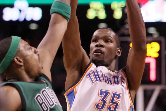 Durant, Westbrook Look to Join High-Scoring Teammates Elite