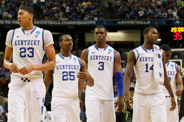 NCAA Tournament 2012: Ranking Remaining Teams' Chances of Knocking off Kentucky