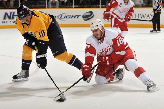 NHL Playoffs 2012: Red Wings and Predators Likely To Face off in First Round
