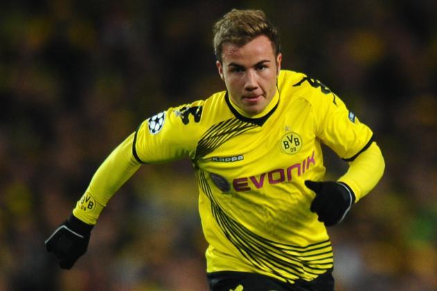 Mario Götze: Borussia Dortmund Star Signs Contract Extension to 2016