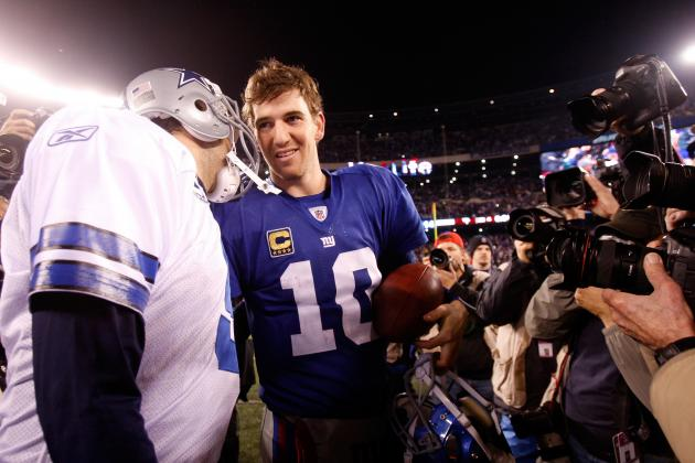 2012 NFL Schedule: Dallas Cowboys vs. New York Giants Opener Filled with Drama