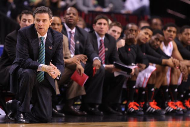 NCAA Bracket 2012: Rick Pitino and Louisville Ready to Win It All