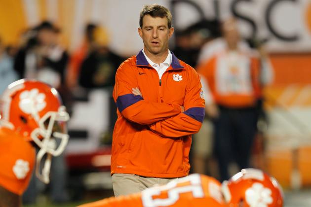 College Football 2012: Dabo Swinney's Spring Exhibition Plan Has Legs
