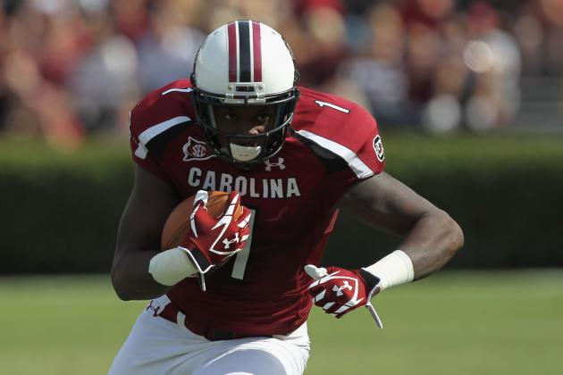 2012 NFL Draft News: WR Alshon Jeffery Back in 1st After South Carolina Pro Day