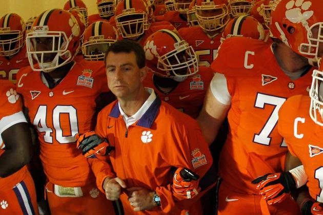 College Football 2012: Dabo Swinney's Spring Jamboree Idea Carries Injury Risk