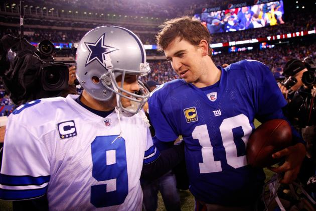 2012 NFL Schedule: Predicting Top Performers for Cowboys vs. Giants Opener