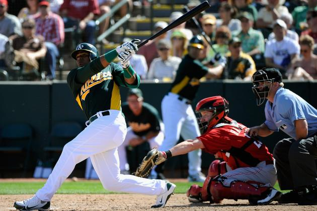 Yoenis Cespedes: Oakland Athletics CF Has His Moments in MLB Debut
