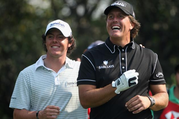 Masters 2012: Rory McIlroy and Phil Mickelson Will Give Tiger Trouble at Augusta