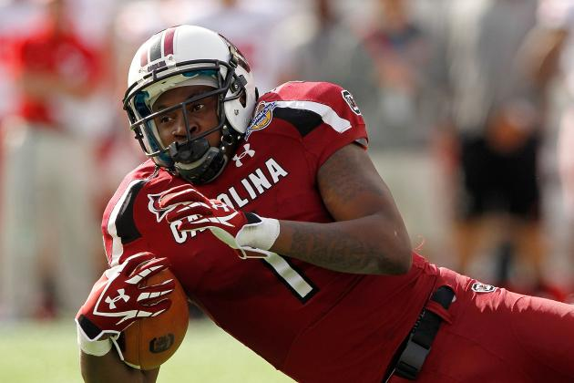 South Carolina Football: Alshon Jeffery's Speedy 40-Time Proves Critics Wrong
