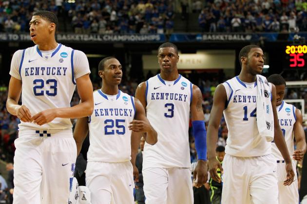 NCAA Bracket 2012: Kentucky Wildcats Proving Experience Is Overrated