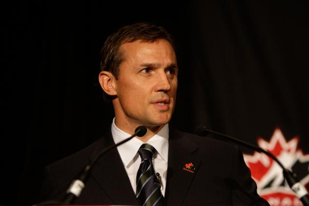 Steve Yzerman Is the Perfect Choice for Executive Director of Team Canada