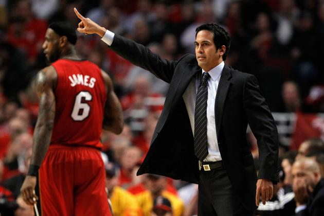 Miami Heat: Why Erik Spoelstra Will Never Lead Big 3 to Title