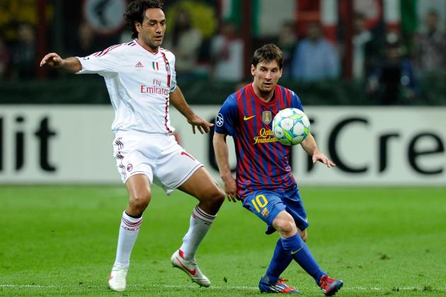 AC Milan vs Barcelona: Ranking Most Important Players on the Pitch