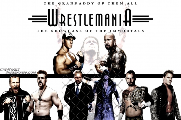 WrestleMania 28: Deciding the Order of the Matches at the Event