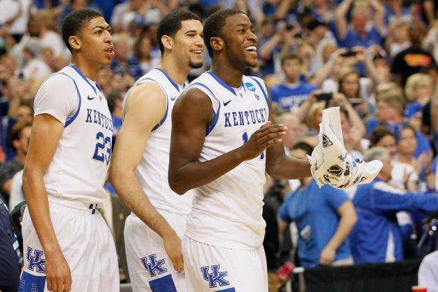 Kentucky Wildcats Roll to NCAA Final Four